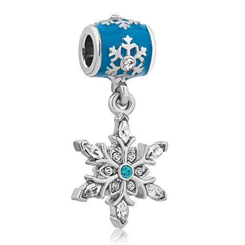 women-snowflake-charms-blue-birthstone-crystal-dangle-beads-cheap-fit-pandora-charm-bracelets