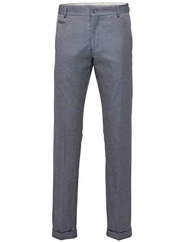 Selected - Pantalon de costume - Slim - Homme Gris