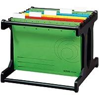 Herlitz Officeboy - Bastidor para carpetas colgantes (A4), color negro
