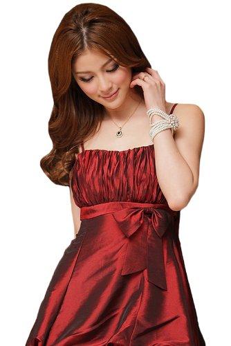 VIP Dress Cocktailkleid / Abschlussballkleid / Festkleid kurz in Beige, Rosa und Rot Rot