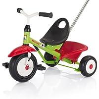 Kettler Funtrike - das coole Dreirad mit Schiebestange - Kinderdreirad für Kinder ab 2 Jahren - stabiles Kinderfahrzeug inkl. kippbarer Sandschale