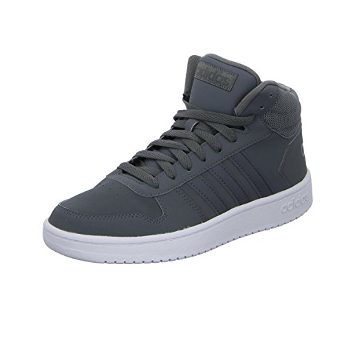 adidas Vs Hoops Mid 2.0, Baskets Hautes Homme Gris (Grey Four F17/grey Four F17/grey Five F17 Grey Four F17/grey Four F17/grey Five F17)