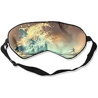 Preisvergleich für Eye Mask Eyeshade Art Deer Rhino Horse Sleeping Mask Blindfold Eyepatch Adjustable Head Strap