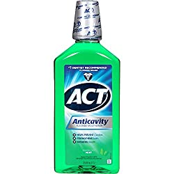 Act Mint Anticavity Fluoride Rinse, 33.8 oz