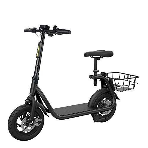WANG XIN Elektroroller Adult Folding 350W Brushless Motor Höchstgeschwindigkeit 12.5 Mph Electric Bicycle
