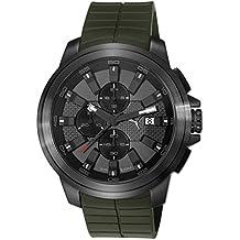 Puma Time Herren-Armbanduhr Drill Chono Chronograph Quarz Plastik
