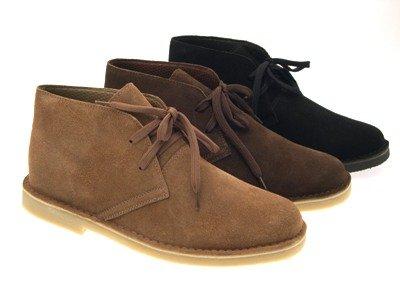 LD Outlet , Chaussures de ville à lacets pour garçon Taupe