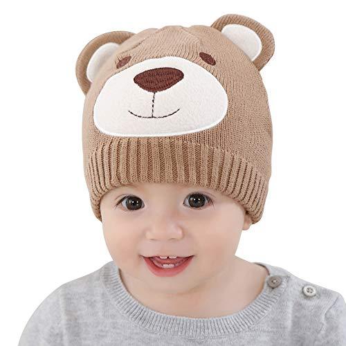 c68130269 Bebé Gorro Beanie de Punto Invierno 6-12 Meses Niños Niñas cálido Sombrero  de Ganchillo