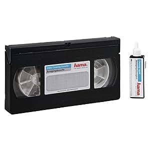 Hama 44728 Casette de Nettoyage Audio VHS + Flacon de liquide