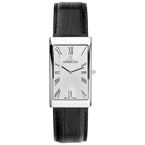 Michel Herbelin Grand Palais Reloj de hombre negro/plata 1162/01