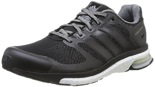 Adidas B26643, Herren Laufschuhe, Mehrfarbig (Cblack/Ftwwht/Cblack), 40