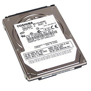 Toshiba mk1246gsx-Festplatte-120GB-intern-6,3cm-SATA-300-5400RPM-Puffer: 8MB - Sata Puffer