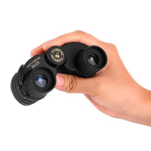 Outdoor Waterproof VS8x25S Binoculars,SGODDE Compact Powerview Easy Focus with Case for Outdoor Hiking,Shooting, Travelling, Sightseeing, Hunting, Bird Watching