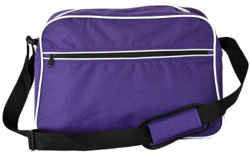 Borsa A Tracolla Eurobags, In 10 Colori Viola - Viola