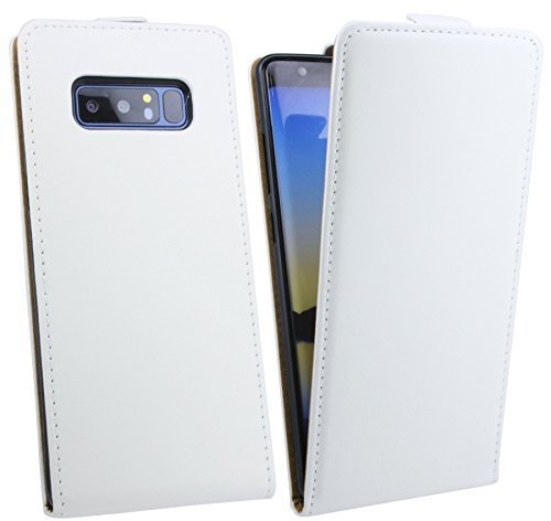 Price comparison product image Flip Case fr Samsung Galaxy Note 8 n950f ALL COLOURS - WEIÁ