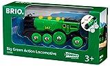 BRIO World - Big Green Action Locomotive