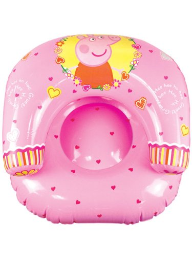 Character World Peppa Wutz Polka Dot Aufblasbarer Sessel (Nick Jr Pig Peppa)