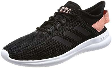adidas neo - donne di qtflex w cblack / cblack / trapnk scarpe da corsa