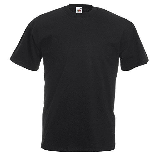 Fruit of the Loom Valueweight T-Shirt Black