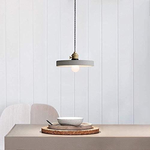 Lámpara Colgante de Techo Iluminación Luz Comedor Salón Vintage Industrial Vintage Doble...