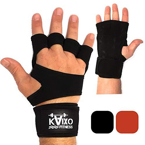guanti calisthenics KAIXO FITNESS Guanti Crossfit per Allenamento