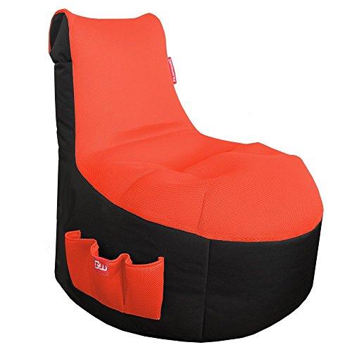 GAMEWAREZ Classic Fire (orange) Sitzsack, Polyesterfaser, orange