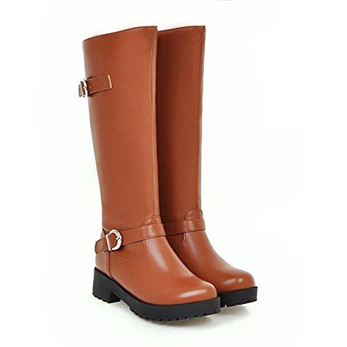 Ragazze Stivali Stivali di Martin con Low boots brown
