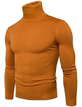Uomini maglione autunno e inverno alta collare uomini Maglioni lavorati a maglia e t-shirt alla fine del primo...