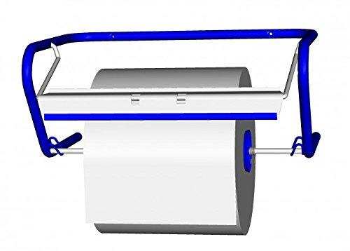 Fripa Wandhalter für Putzrollen aus Metall blau. Sehr stabil gefertigter Putzrollenwandhalter. Bis...