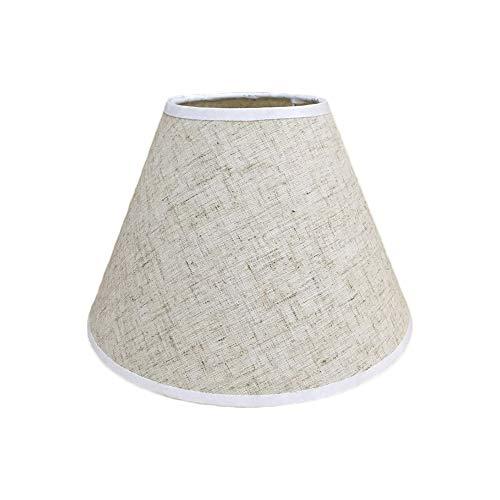 Pantalla de lámpara,Pantalla de Tela Redonda para Lampara del pared, techo, mesa de Dormitorio Pasillo...