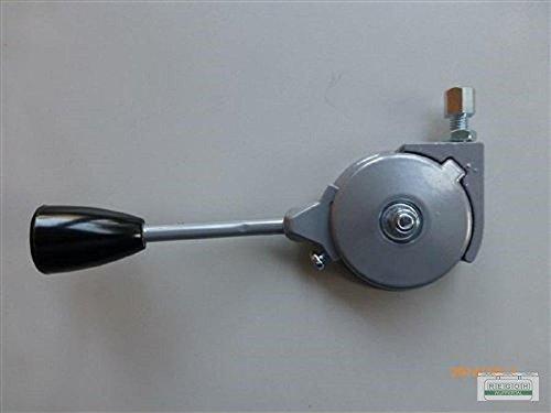 Gashebel Verstellhebel 200mm universal Gasverstellung für Rechtsseitige Befestigung (Gashebel Rasenmäher)