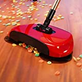 Shinemaker Sweep Drag All-In-One Household Hand Push Rotating Sweeping Floor Sweeper Cleaner Dust Mop Set (Multicolour…