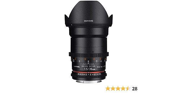 Samyang 35 Mm T1 5 Vdslr Manual Focus Video Lens For Elektronik