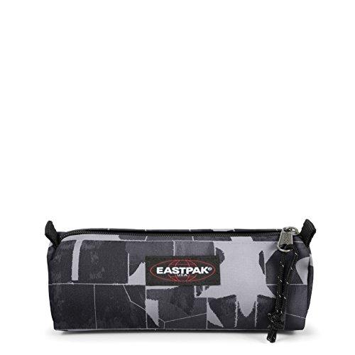Eastpak Benchmark Single Trousse, 21 cm, L, Gris (Cracked Dark)