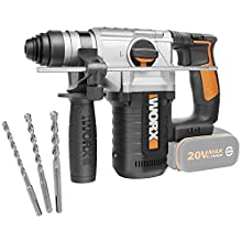 Worx WX392.9 – 4-Function Hammer 2.2J 20V (Without Battery)