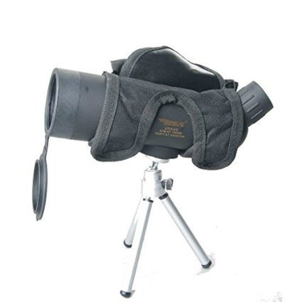 F.Dorla New Quality Tourism Spoting Scope Monocular Telescopes 20x50 Optics Prism+tripod (Black)