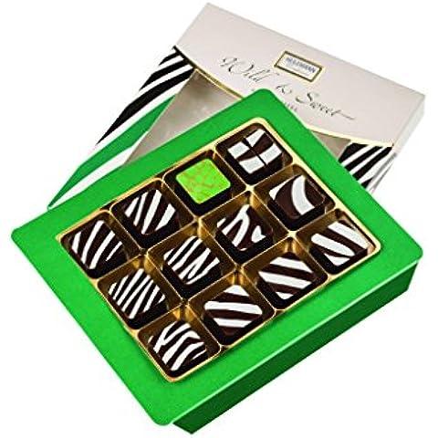 Heilemann Wild & Sweet - Praline al rum - decorazione zebra