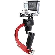 Inercia de 3 ejes Gyro Estabilizador W/GoPro Soporte Clip con GoPro Mango Estabilizador GoPro Gimbal Estabilizador de vídeo Soporte para DSLR cámaras GoPro Hero 4/3 +/3