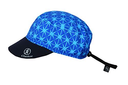 Chaskee Junior Reversible Cap Trip Star mit Neoprenschild und UV-Schutz 80+, Farbe:Light Blue - Reversible Cap