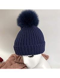 FRGVSXZCX Moda Cappelli cap Cappello di Lana Casual Wild Knit Hat Donna  Inverno Carino Spesso Moda dc88ac541875