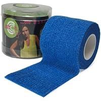 selbsthaftende elastische Fixierbinde / Fingerpflaster - 5 cm x 4,5 m (gedehnt), blue preisvergleich bei billige-tabletten.eu