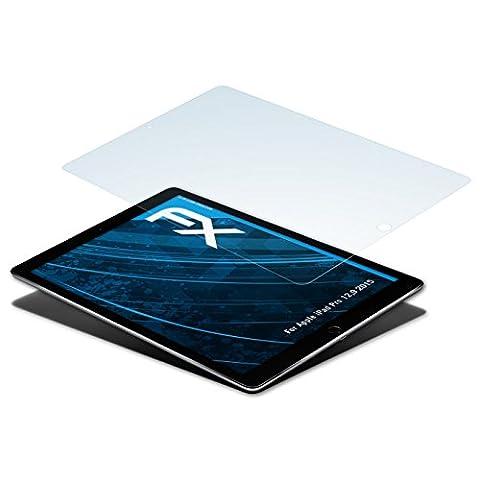 Apple iPad Pro 12,9 (2015) Schutzfolie - 2 x atFoliX FX-Clear kristallklare Folie (Apple 12)