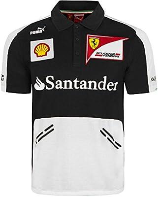 Puma Ferrari Formula One Team Polo camiseta-Racing Santander