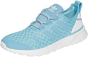 adidas Damen ZX Flux Adv Verve Sneakers, Blau (Blanch Sky/Blanch Sky/Core White), 38 2/3 EU