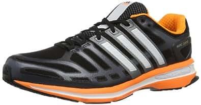 adidas Sonic Boost, Scarpe da corsa uomo, Nero (Schwarz (black/solar zest/running white)), 41 1/3