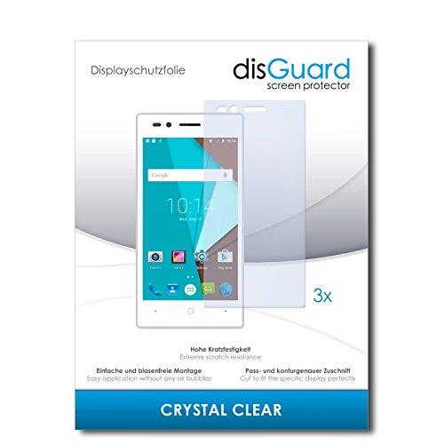 disGuard® Bildschirmschutzfolie [Crystal Clear] kompatibel mit Siswoo A4+ [3 Stück] Kristallklar, Transparent, Unsichtbar, Extrem Kratzfest, Anti-Fingerabdruck - Panzerglas Folie, Schutzfolie