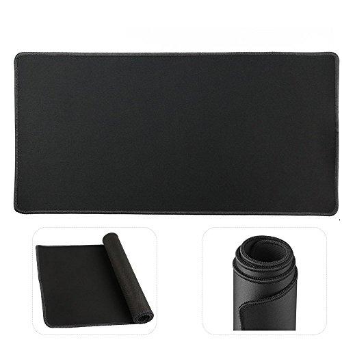 Preisvergleich Produktbild cmhoo Verlängerte Mauspad 68,6cm großes Maus Pad Dick Mauspad Gaming funktionelle Unterseite aus rutschfestem Gummi 70x30 thicker black