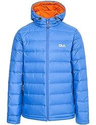 Trespass hombres de Ambrose, DLX abajo chaqueta, hombre, color azul, tamaño medium
