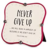 Scarica Libro Plaque Little Blessings Series Never give up 4 5 x 4 5 Galatians 6 9 (PDF,EPUB,MOBI) Online Italiano Gratis