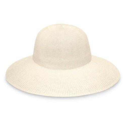 Wallaroo Hats Damen Hut Victoria Diva, Natur, One Size, VICD-20